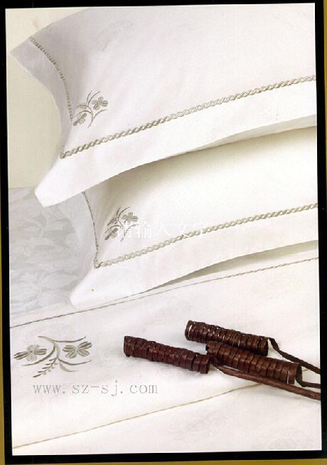 貢緞繡花枕套