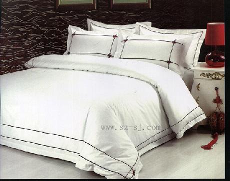 貢緞繡花床上用品