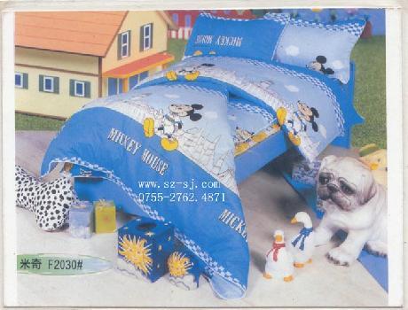 兒童純棉床上用品套件(米老鼠)